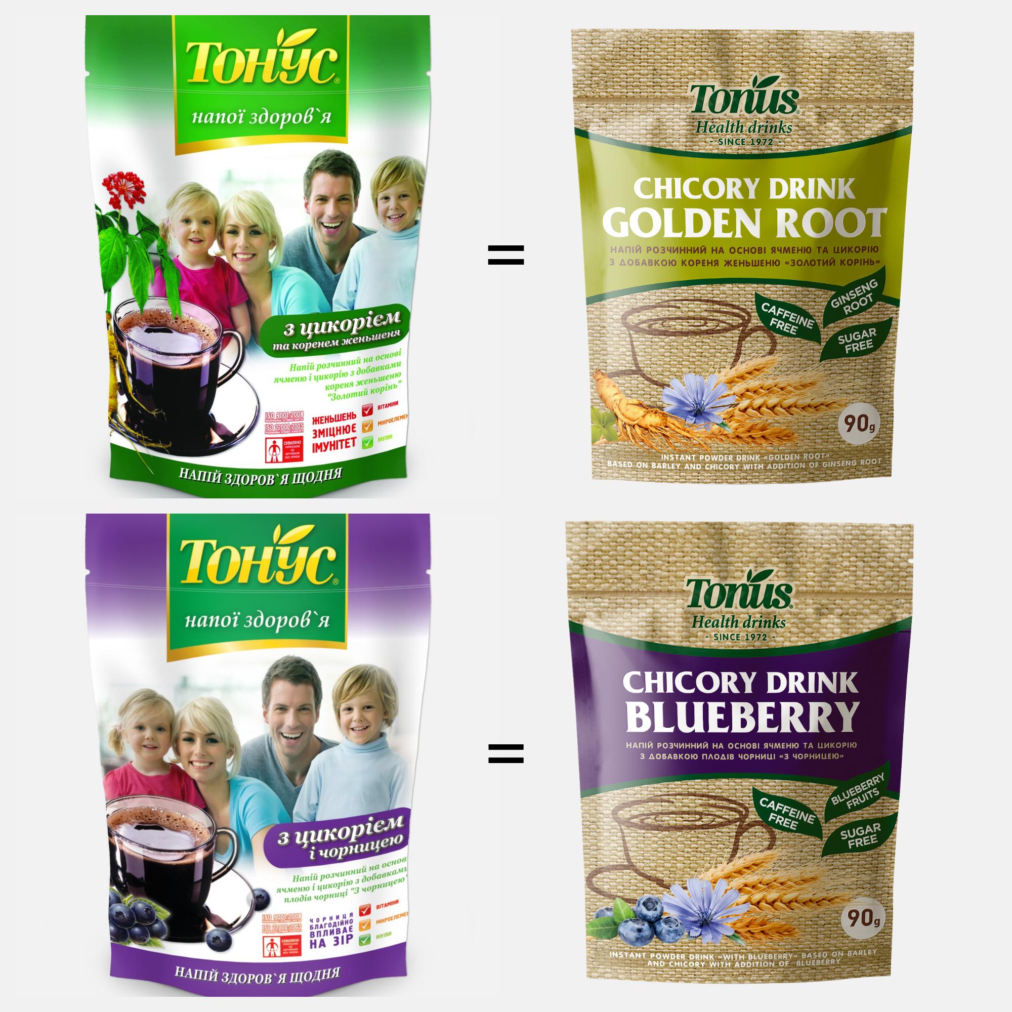 """New packaging design of """"Tonus"""""""