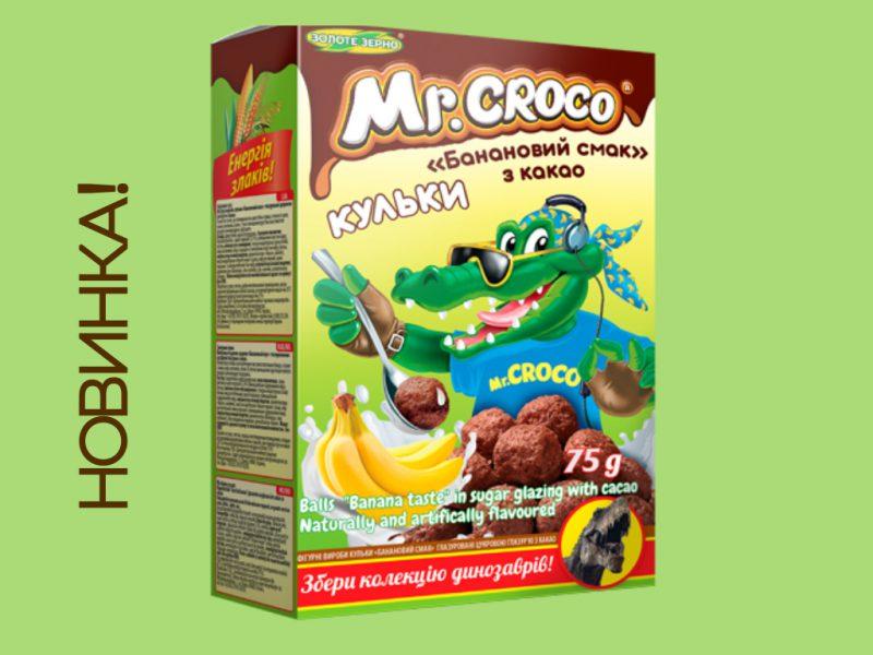 "Новинка Mr. Croco ""Бабановый вкус"" с какао"
