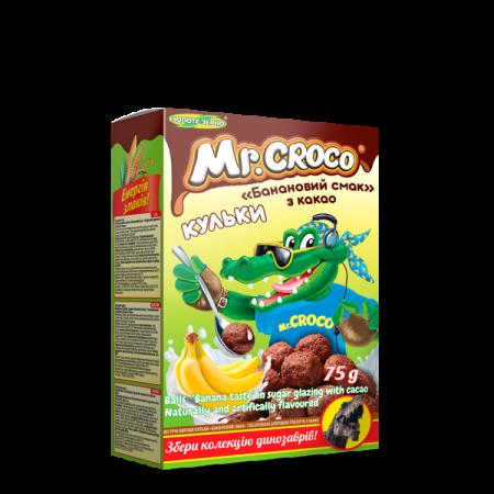 """Шарики Mr Croco """"Банановый вкус"""" с какао"""
