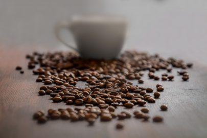 Слабая степень обжарки кофе