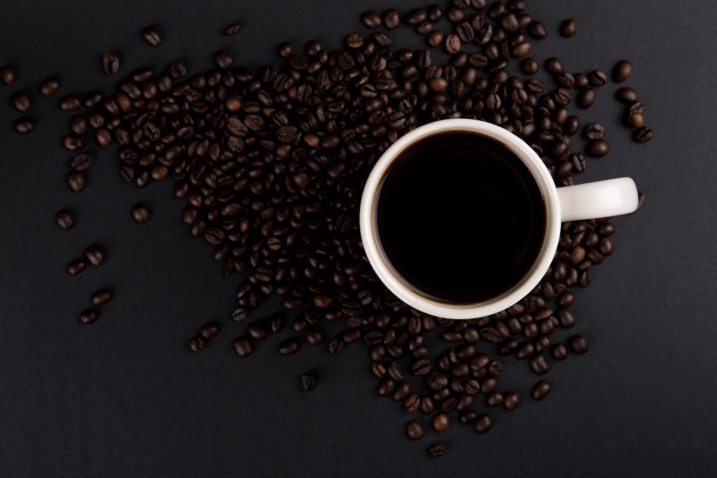 Сильная степень обжарки кофе